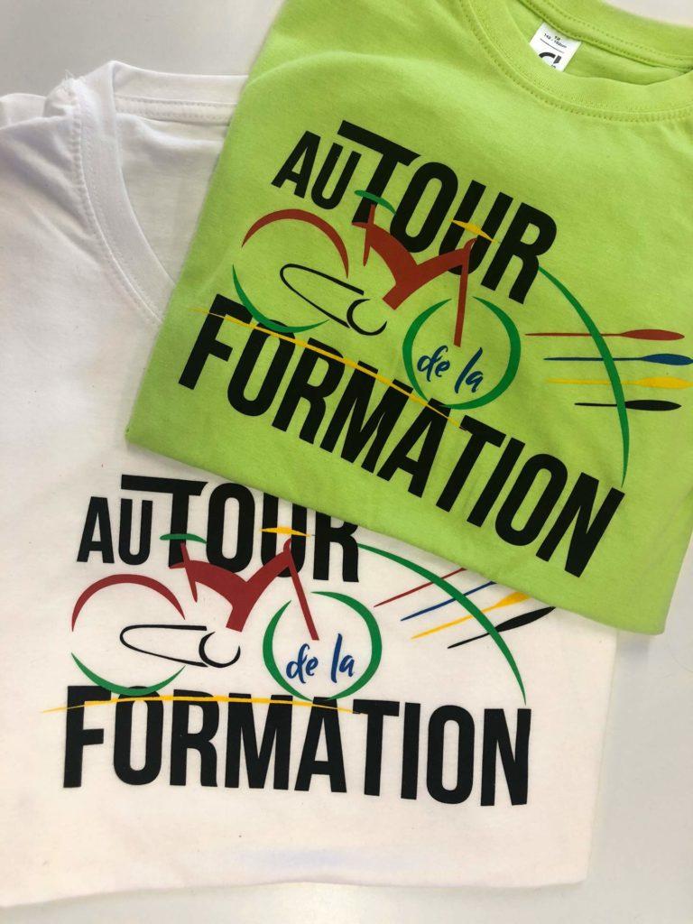 Impression en sérigraphie directe sur t-shirt