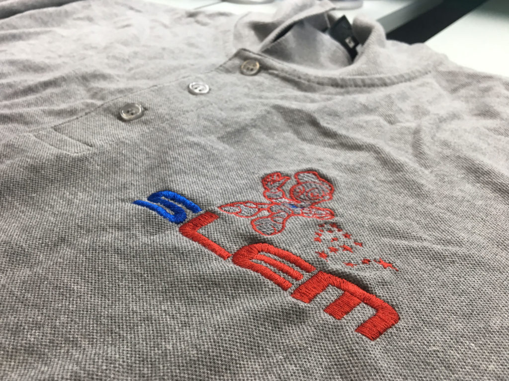 Broderie sur Polo